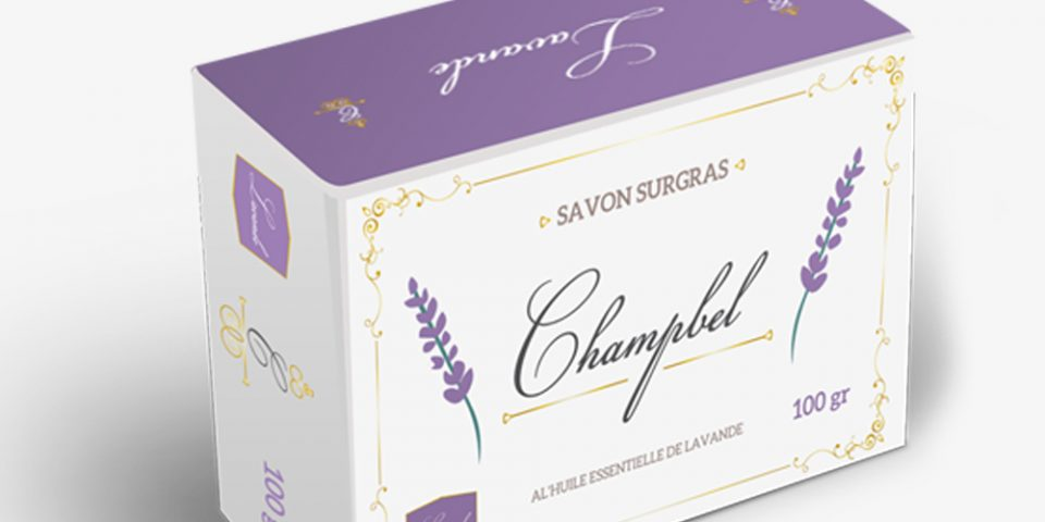 Packaging savon