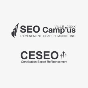 Anatomie du logo SEO Camp'Us et CESEO de l'association SEO Camp