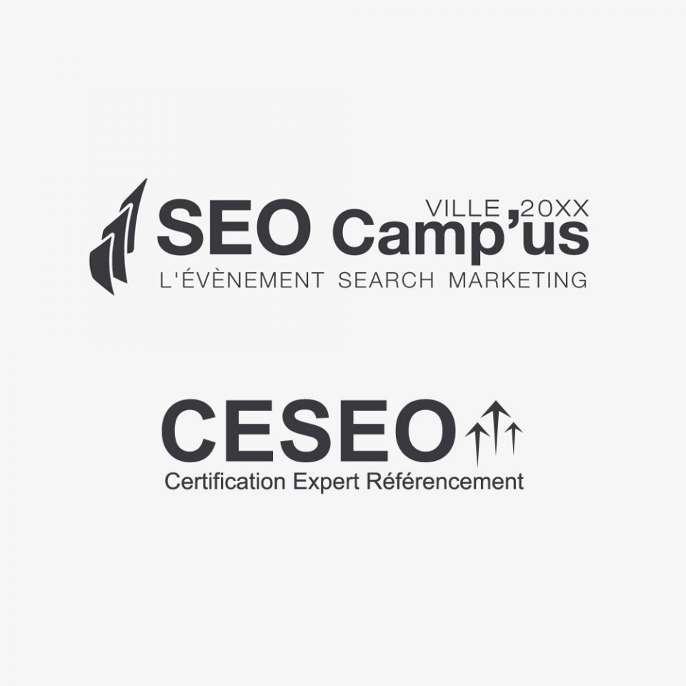 Conception de logos pour l'association SEO Camp